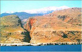 Sfakia: Aradena gorge / South exit